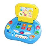 Enlarge toy image: KD S0896 Peppas My First Laptop - Multi-Coloured - toddler baby activity product