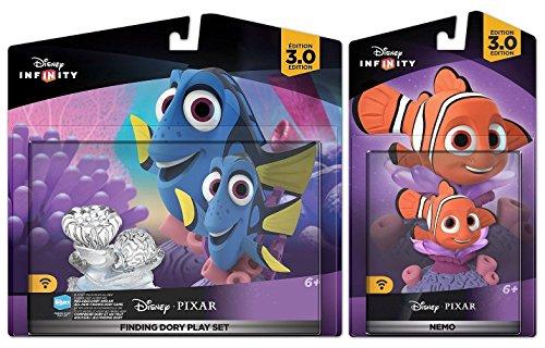 Disney Infinity 3.0: Pack de jeux Finding Dory avec Nemo - Figures de films (Infinity Ps3-bundle)