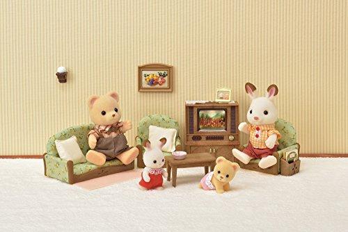 EPOCH Traumwiesen GmbH 5287 Sylvanian Families Wohnzimmer- und TV-Set