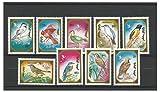 Briefmarken für Sammler - 1991 Vögel aus der Mongolei Postfrisch stempel-satz/Mongolei SG2191-2199