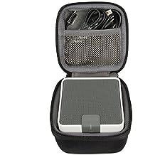 co2CREA EVA Storage Travel Carrying Case Bag for Anker (A7908) Enceinte Portable Bluetooth Wireless haut-parleur,correspond câble USB / Audio ensembl