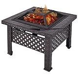 Casart piazza Firepit riscaldante Fire Pit Brazier Stove braciere da giardino patio barbecue all' aperto