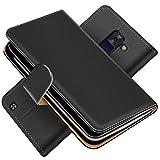 Conie Handytasche für LG Magna Cover Schutzhülle im Bookstyle aufklappbare Hülle aus PU Leder Farbe: Schwarz