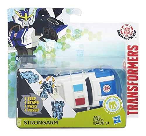 Hasbro Transformers B6806ES0 - Robots in disguise One Step Strongarm, Actionfigur
