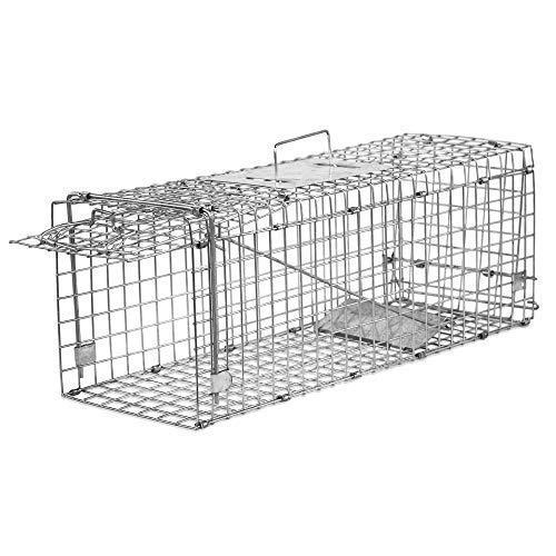 Elbe livetrap trampa para ratones en vivo MAF04 Nuestra serie de modelos MAF04 posee una construcción muy simple. Debido al muelle montado, la trampilla de la jaula de captura se cierra al encontrarse un animal en su interior,  sin que se hiera un an...