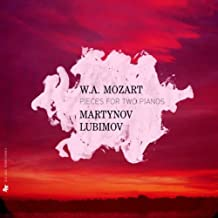 Mozart : Oeuvres pour 2 pianos : Quartetto n°  2 - Sonate K. 448. Larghetto & Allegro. Adagio & Fugue
