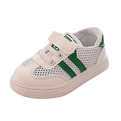 Mitte Kalb Casual Stiefel (hellomiko Baby Breathable Schuhe Junge Mädchen Casual Sportschuhe Erste Wanderschuhe Baby Sportschuhe Kleben)