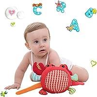 Preisvergleich für Baby-lustiges Spielzeug Baby Schöne Krabbe Weiche Hand Rasseln Bell Kinder Baby Funnny Crawlen Bell Ball Spielzeug Geschenk