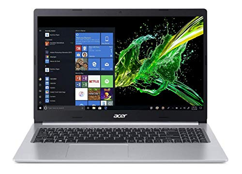 Acer Aspire 5 Slim A515-54G 15.6-inch FHD Thin and Light Notebook(Intel Core i5-8265U Whisky Lake Processor/8GB Ram/2TB HDD + 512 SSD/Win10/2 GB MX250 Graphics), Pure Silver