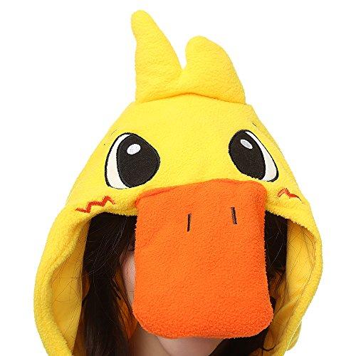 Imagen de pijamas unisexo adulto traje disfraz animal adulto pato amarillo alternativa