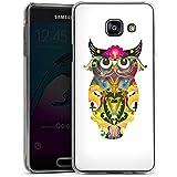 Samsung Galaxy A3 (2016) Housse Étui Protection Coque Hibou décoratif Hibou Hibou