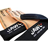 JAW Pullup Grips - Best Selling Hand Grip for WODs - Palm Grips for CrossFit, Fitness, Gymnastics & Weightlifting - Protect Your Hands from Rips and Tears