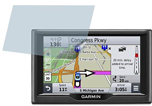 Garmin nüvi 57LMT 57LM (2 Stück) PREMIUM Displayschutzfolie Bildschirmschutzfolie ANTIREFLEX Schutzhülle Displayschutz Displayfolie Folie (Garmin Gps-57lm)