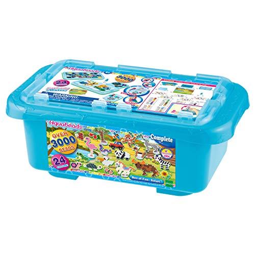"Aquabeads 32808 Mega Bastelbox \""Safari\"", Kinder Bastelset"