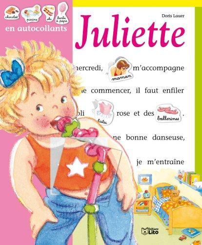 Autocollants Juliette S'Amuse par Doris Lauer