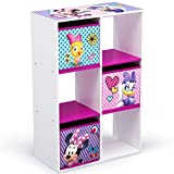 Delta Children 6 Cubby Storage Unit, Disney Minnie Mouse