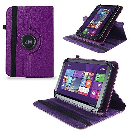 UC-Express Tasche Hülle Cover für Odys Wintab GEN 8 Case Tablet Schutzhülle Bag, Farben:Lila