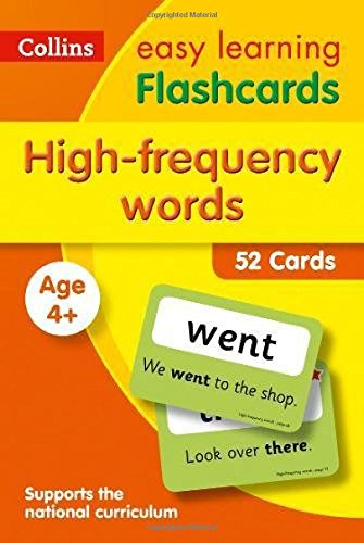 High Frequency Words Flashcards (Collins Easy Learning KS1) por Collins Easy Learning