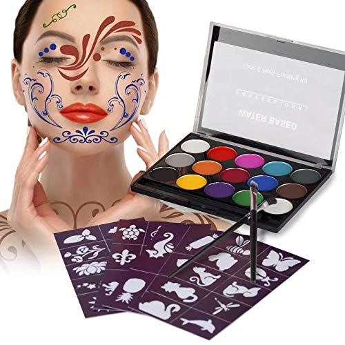 XPASSION Kit Pintura Facial. Set Maquillaje