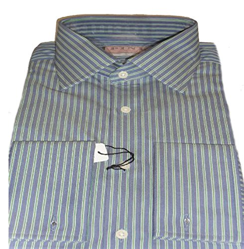 thomas-pink-mens-blue-with-green-stripe-cotton-double-cuff-shirt-19l