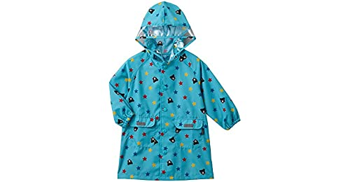 58392ea71 Flyci Kids Rain Jacket Big Hat Childrens Raincoat With A Bag Baby ...