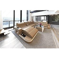 Diseño Conjunto de Muebles Para Salón WAVE OLA XXL con LED