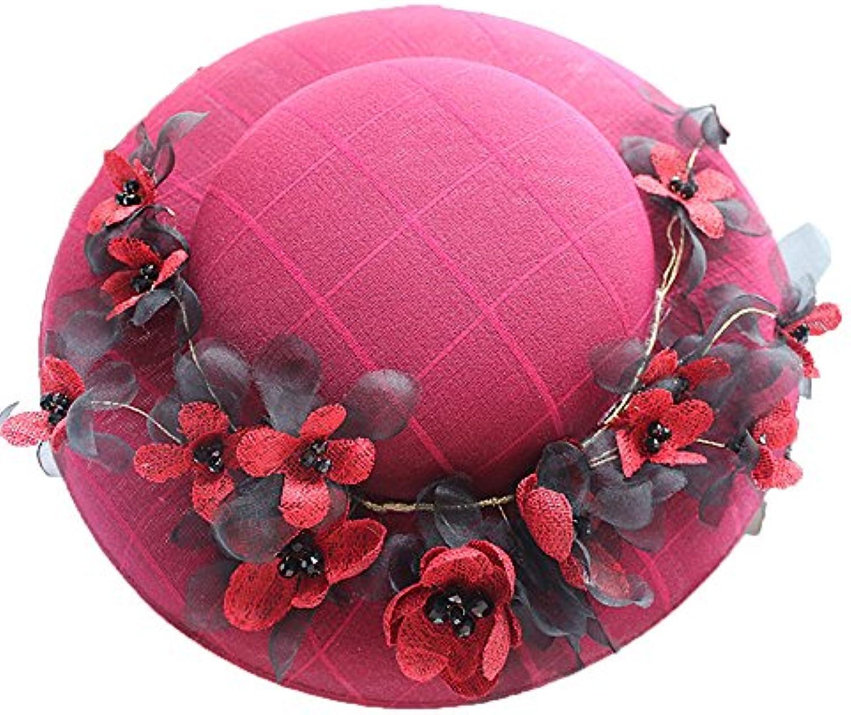 Cappello da Sposa Vintage Lino in Lino Vintage Ricamato a Mano Parent 82b169 e19c05cc0441
