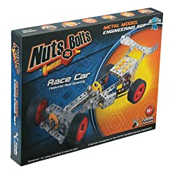 Nuts & Bolts Race Car Building Set