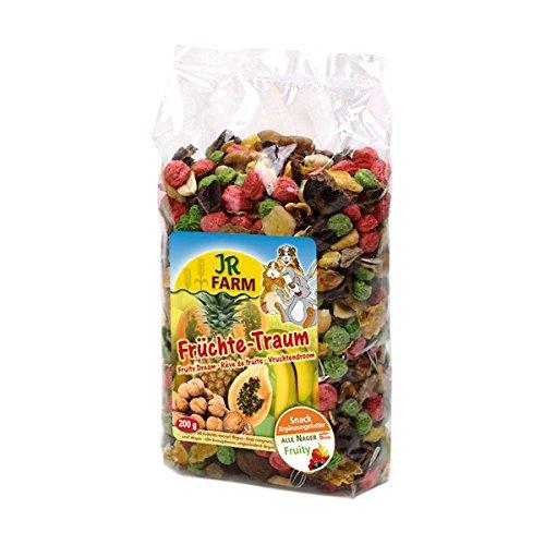 Jr Farm Bocaditos de fruta roedores 200 g. Comida para...
