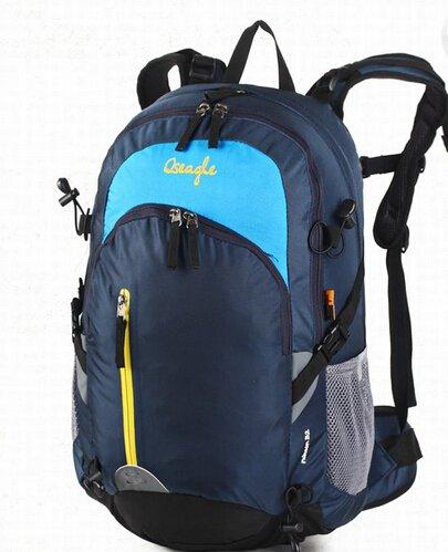 Cinny Outdoor Sport Reisen wasserdichte Bergsteigen Tasche Rucksack wandern Blue