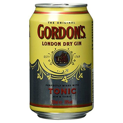 Gordon´s Gin Tonic, (1 x 0.33 l)