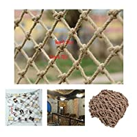 Safety Net Kids Protective Safety Protection Hemp Rope Net Protection Net Outdoor Child Protection Climbing Anti-fall Decoration Net Child Protection Net Railing Safety NetPatios, Safe Rail Net For Ki