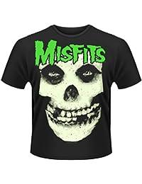 Misfits Glow Jurek Skull Rock Punk Official Tee T-Shirt Mens Unisex
