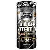 Muscletech Essential Series Platinum Multi Vitamin (18 Vitamins & Minerals, 865mg Amino Support) - 90 Tabs