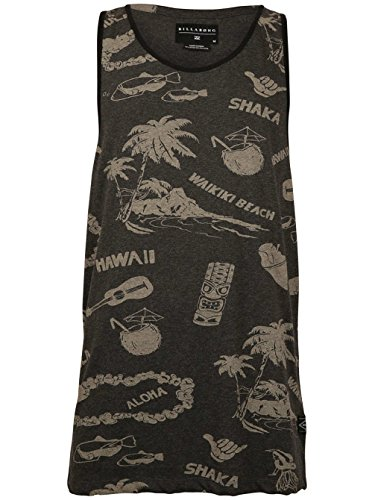 Herren Tank Top Billabong Lei Day Tank Top Phantom