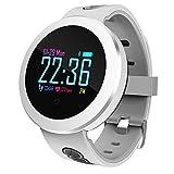 Klicop Q8 Pro Smart Watch OLED Color Screen Smart Electronics Smartwatch Fashion Fitness Tracker Heart Rate Bluetooth Men Women Smart Watch (Color : Green)