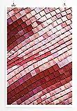 Eau Zone Home Bild - Art Fotos – Dachziegel in der Sonne- Poster Fotodruck in höchster Qualität