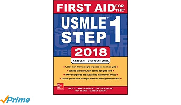 First aid for the usmle step 1 2018 28th edition amazon first aid for the usmle step 1 2018 28th edition amazon vikas bhushan tao le 9781260116120 books fandeluxe Choice Image