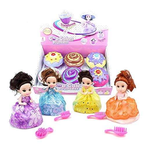 Docooler Prinzessinnen-Duft, zum Sammeln, Verwandeln von Kuchen in Puppe, Geschenk für Mädchen