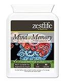 Zestlife mente y memoria de la ayuda 30 Caps - Ayuda a mejorar el rendimiento del cerebro , esta avanzada fórmula cápsula de liberación rápida , puede ayudar a mejorar la memoria a corto y largo plazo e impulsar neurotransmisor general.
