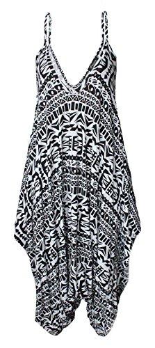 Janisramone - Combinaison - Combinaison - Sans Manche - Femme * taille unique Aztèque