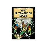 Poster Moulinsart Album de Tintin: Le temple du soleil 22130 (70x50cm)...