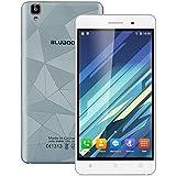 """Bluboo Maya- Smartphone libre Android 6.0 (Pantalla 5.5"""", Cámara trasera 13 Mp, MT6580A Quad Core 1.3 GHz, 2GB de RAM, 16GB de ROM, Dual SIM 3G), Gris"""