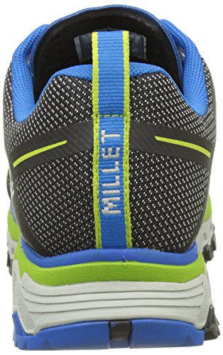 MILLET Alpine Rush, Chaussures de Randonnée Basses Homme Multicolore (Grey/Electric Blue)