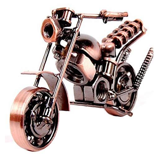 Beito Modelo De La Motocicleta De Metal Artesanías Decorativas Motor