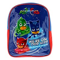 Pj Masks Backpack Bags & Accessories Synthetic Material Kids Bags Blue/Red