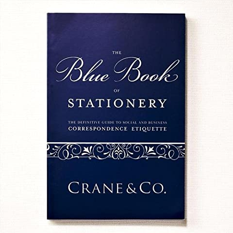 Crane & Co. Blue Book of Stationery (CA9000A) by Crane & Co.