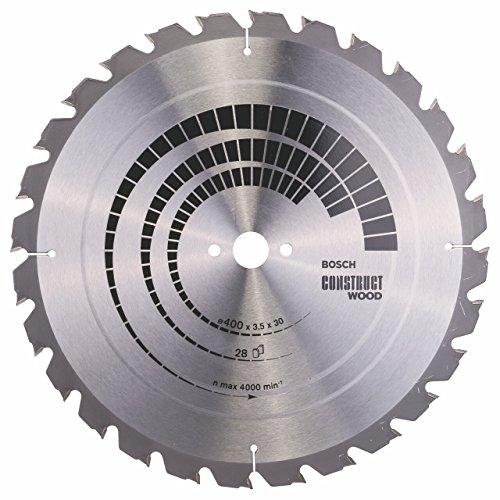 Bosch 2608640693 Kreissägeblatt-HM Bau 400 x 30 mm, 28 Zähne
