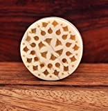 unique lattice carved bone cabinet cupbo...
