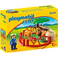 Playmobil 9378 1.2.3 Lion Enclosure with Cave